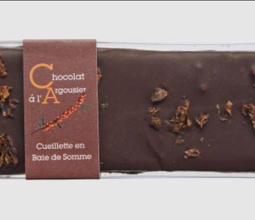 Tablette de Chocolat à l'Argousier