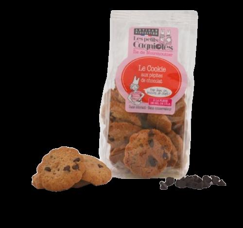 Cookies aux pépites de chocolat noir de l'île de Noirmoutier