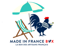 """Tattoo pour Textile """"Made in France Box"""""""