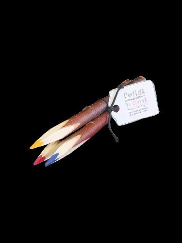 Crayons de couleur artisanaux