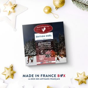 Coffret cadeau Noël made in France