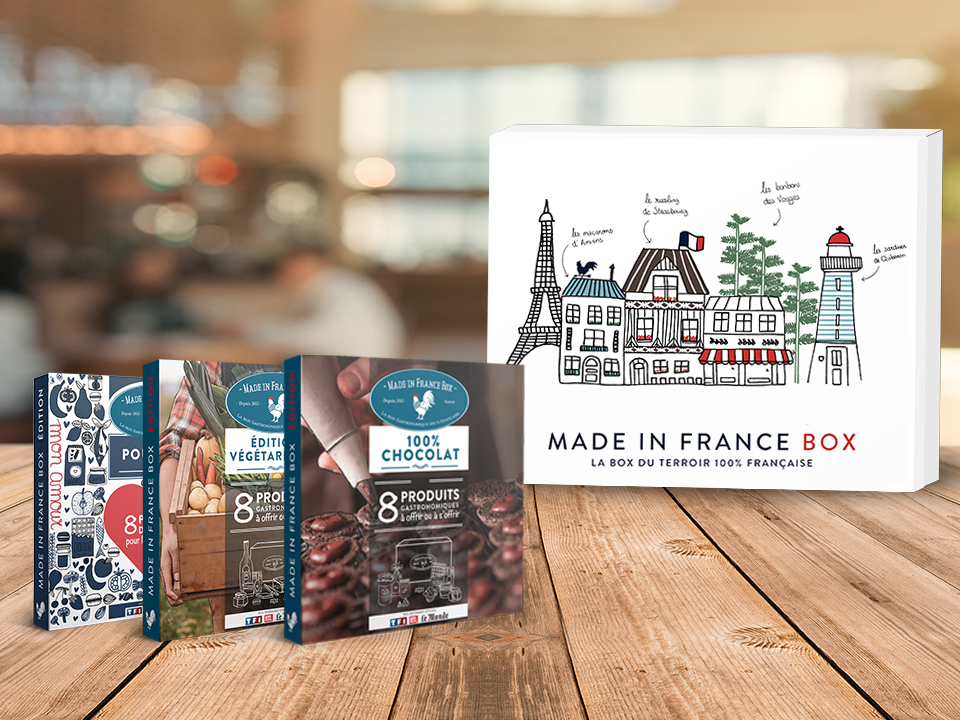 Coffrets cadeaux made in france